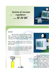 M 20 RC - Vacuum Regulators System  Brochure