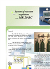 Model MR 20 RC - Vacuum Regulators System Brochure