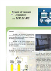 Model MR 21 RC - Vacuum Regulators System Brochure