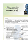ELADOS - EMP IV - Electric Motor-Driven Diaphragm Pump For Dosing Capacity 140 - 210 l/h Brochure