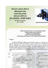 ELADOS - EMP EMP-KKS - Electric Motor-Driven Diphragm-Type Metering Pump With Pre-Delivery Brochure