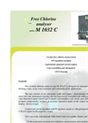 Series M 1032 C - Chlorine Analyzer Free Brochure