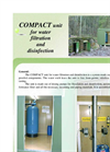 Compact Unit For Water Filtration And Disinfection Brochure