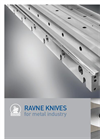Ravne - Straight Knives for Metal Industry - Brochure