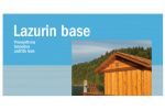 Lazurin base – preventive wood protection