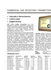Model AST Series - Commercial Gas Detectors, Analog Transmitters Brochure