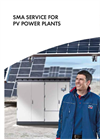 SMA Service for PV Power Plants - Brochure