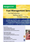 Remote Monitoring Of Ground Diesel Fuel Tank Level Data Sheet