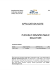 Flexible Sensor Cable Solution Application Note