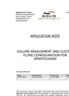 Volume Measurment And Custom Flume Configuration For Smartscan50 Application Note