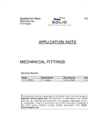 Mechanical Fittings Application Note
