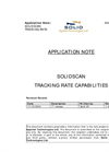 Solidscan Tracking Rate Capabilities Application Note