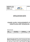 Power Supply Requirements For Smartscan And Monoscan Application Note