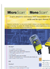 MonoScan and MicroScan Data Sheet