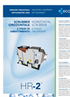 Horizontal Scrubber 2 Stage Treatment - Industrial Equipment For Air Treatment Brochure