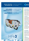 Horizontal Scrubber 3 Stage Treatment - Industrial Equipment For Air Treatment Brochure