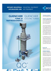 Quencher Cooling Tower - Industrial Equipment For Air Treatment Brochure