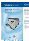 Biofilter Humidifiers For Biofilters - Industrial Equipment For Air Treatment Brochure