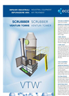Scrubber Venturi Tower - Industrial Equipment For Air Treatment Brochure