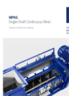 Single-Shaft Continuous Mixer (MFKG) Brochure