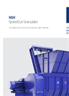 SpeedCut Granulator (NGV) Brochure