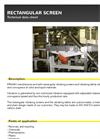 Rectangular Vibrating Screen Brochure