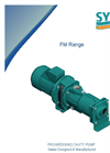 Model FM range - Progressing Cavity Pumps - Brochure