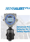 SensAlert Plus Toxic, Combustible, and Oxygen Gas Detector Datasheet