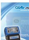 GilAir - Plus - Personal Air Sampling Pump Brochure