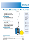 Gilian - Model AirCon-2 - High Volume Air Sampling Pump for Area Sampling Applications -Brochure
