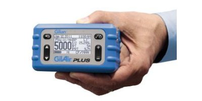GilAir - Model Plus - Personal Air Sampling Pump (1 - 5,000 cc/min)