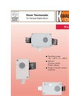 KOBOLD - Model TEA-R - Room Thermostat - Brochure