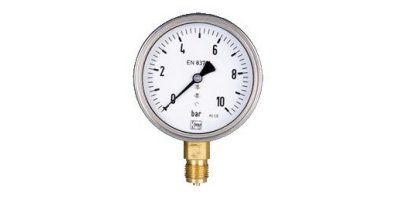 KOBOLD - Model MAN-R, MAN-Q - Bourdon Tube Pressure Gauges