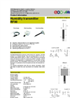 Model RF90 - Humidity Transmitter- Brochure