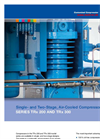 Model TRx 200 series - Single-Stage Air-Cooled Compressors Brochure
