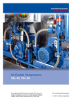 Model TEL series - Single-Stage Air-Cooled Compressors Brochure