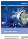 Model MHx 500 series - 1 and 2 Stage Air or Water Cooled Compressors Brochure