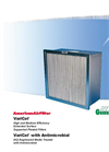 VariCel Extended Surface Supported Pleated Filters