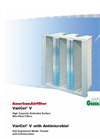 VariCel - V - Mini-Pleat Filters Brochure