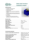 Model 533 600 Type Series - Contactless Safety Angle Transducer Brochure