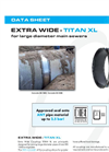 TITAN - Model XL - Extra Wide Couplings - Brochure