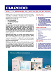 FIA2000 Flow Injection Analyser Brochure