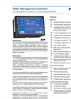 Model PGS 300F - Water Management Controller Brochure