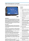 Model PGS 300 - Water Management Controller Brochure