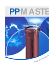 PP Master - 3 Layer Sewer Pipe System Catalogue