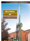 Multidrill - Model ML - Drilling Rigs - Brochure
