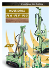Multidrill - Model PL - Geotechnical Drilling Rigs Brochure