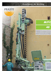 Fraste - Model MITO 40 - Drilling Rigs Brochure