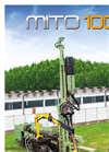 MITO - Model 100 - Foundation Hydraulic Drilling Rig - Brochure