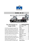 MARL - Model M 10 - Truck Mounted Auger Drills - Brochure
